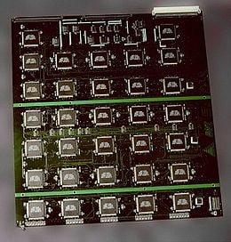 Chiếc máy bẻ khóa này có giá 250.000$ nó có thể bẻ khóa được trong vài ngày với 64 con chip.
