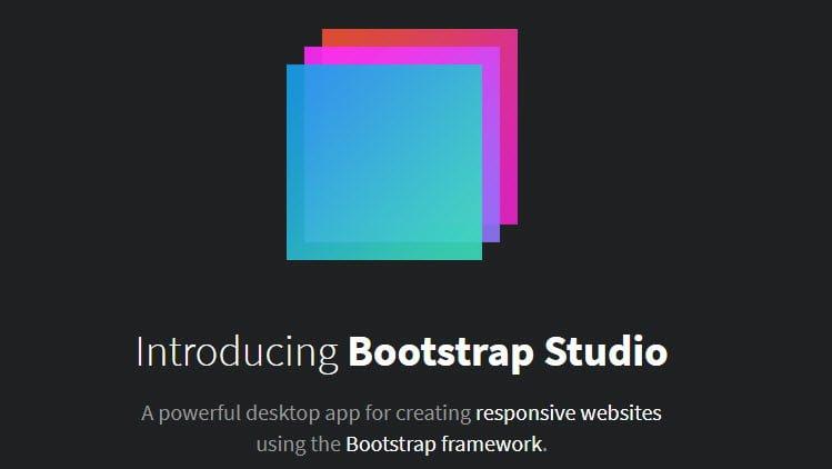 Tạo HTML nhanh chóng chuyên nghiệp với Bootstrap Studio