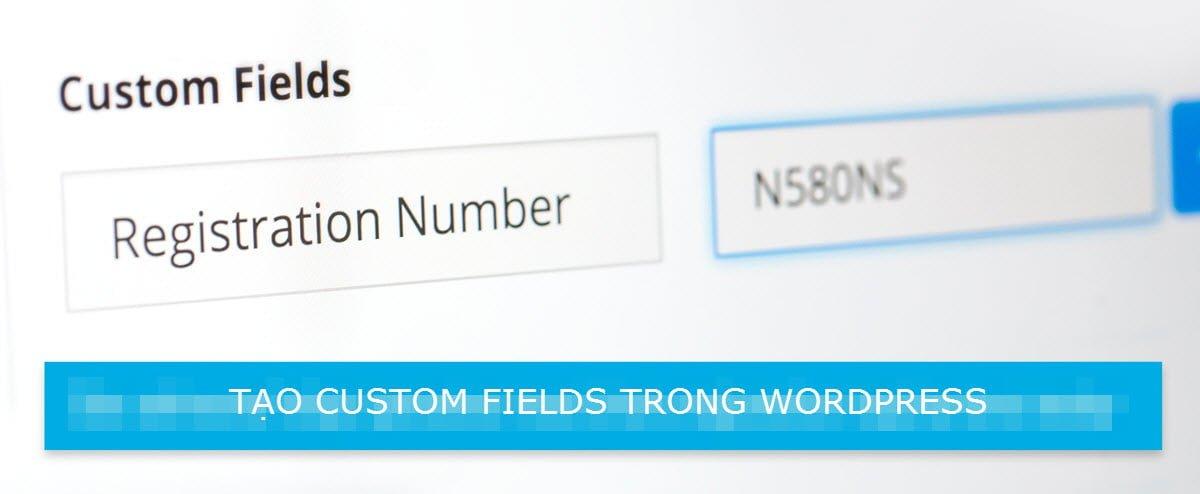 Hướng dẫn tạoCustom Field đơn giản trong WordPress