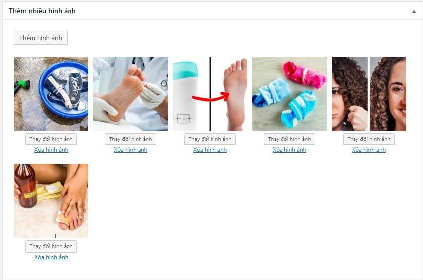 Tạo MetaBox đính nhiều hình ảnh trong WordPress
