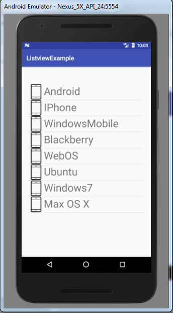 Custom Listview trong Android