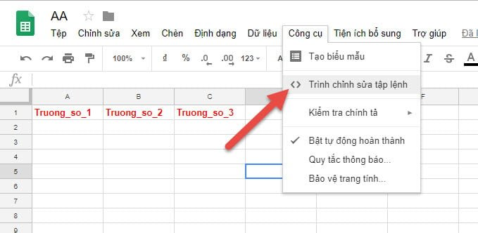 google sheet and form_2