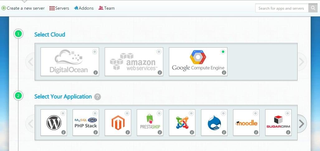 Một số nhà cung cấp Cloud Hosting nổi tiếng như Google, Amazon hay Digital Ocean thường được đánh giá cao