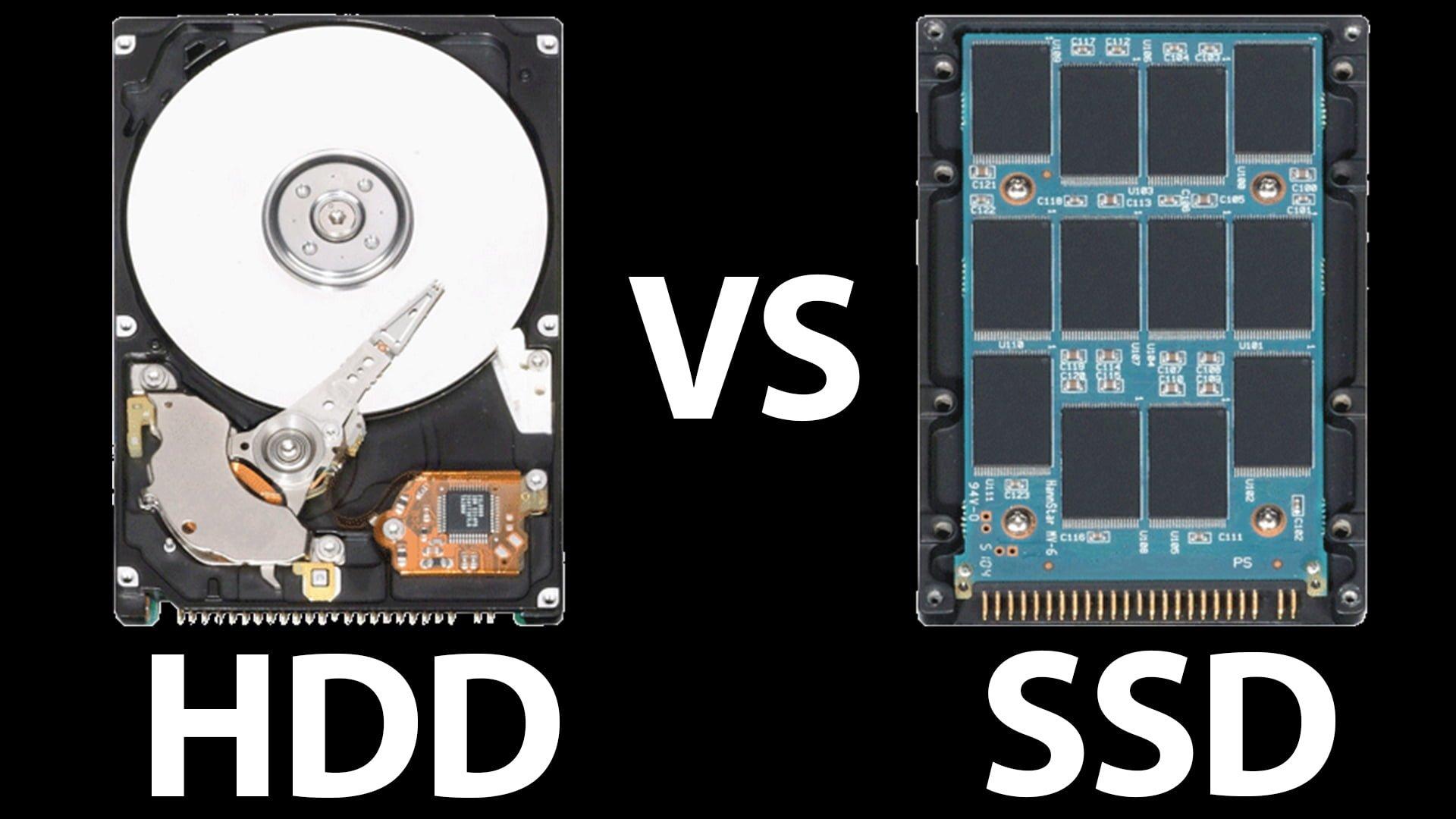 Ổ cứng SSD và HDD khác nhau như thế nào? Có nên sài SSD hay không?
