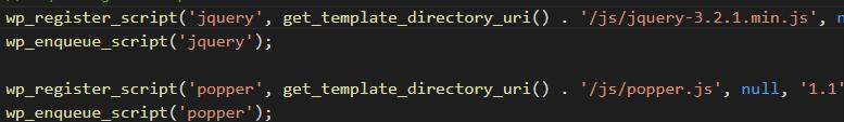 Thêm Javascript vào wordpress